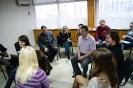 Илья Пажильцев ведет творческую мастерскую